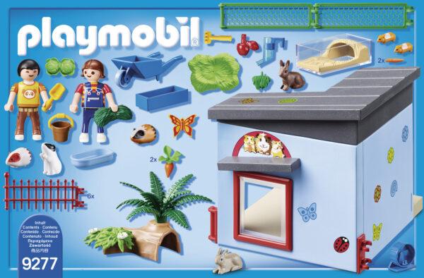 RESIDENZA DI CONIGLI E CRICETI - Playmobil - City Life - Toys Center ALTRI Unisex 12+ Anni, 3-5 Anni, 5-8 Anni, 8-12 Anni Playmobil City Life
