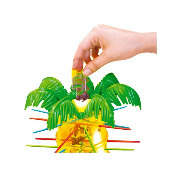 MATTEL GAMES ALTRI Mattel Games- Salva le Scimmie, Gioco in Scatola per 2-4 Giocatori Unisex 3-5 Anni, 5-7 Anni, 5-8 Anni, 8-12 Anni
