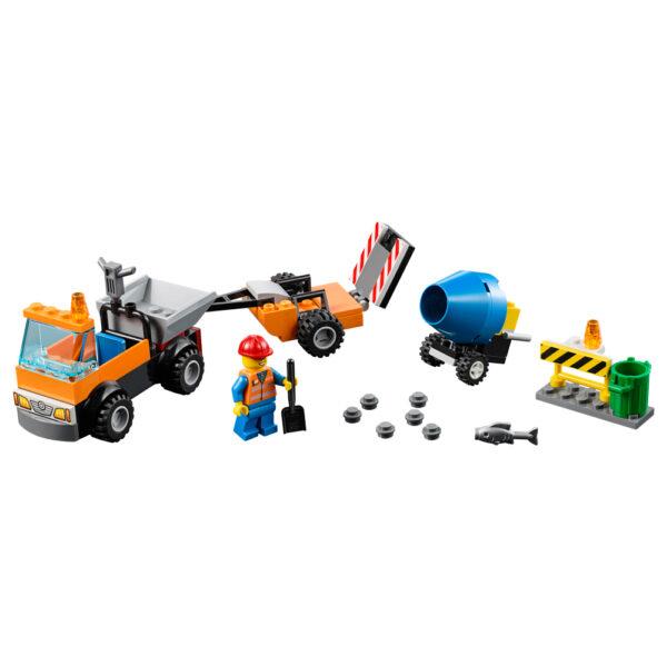 10750 - Camion della manutenzione stradale - Lego Nuovi Arrivi - LEGO - Marche ALTRI Maschio 3-5 Anni, 5-8 Anni LEGO JUNIORS