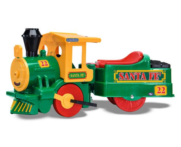 TRENO SANTA FÉ - Altro - Toys Center - ALTRO - Giochi cavalcabili a batteria