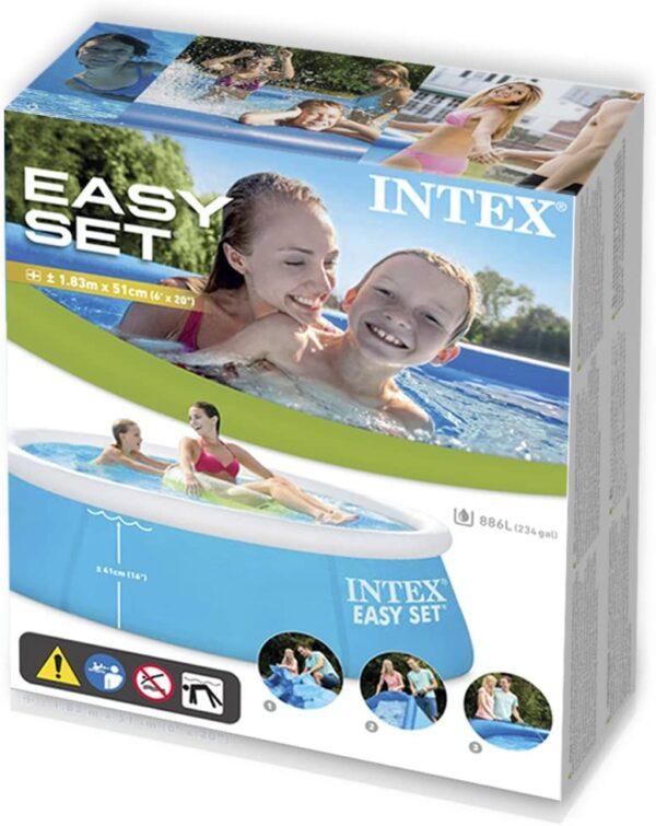 ALTRI ALTRO Unisex 12-36 Mesi, 12+ Anni, 3-5 Anni, 5-7 Anni, 5-8 Anni, 8-12 Anni Piscina My First Easy 183X51 cm - Altro - Toys Center