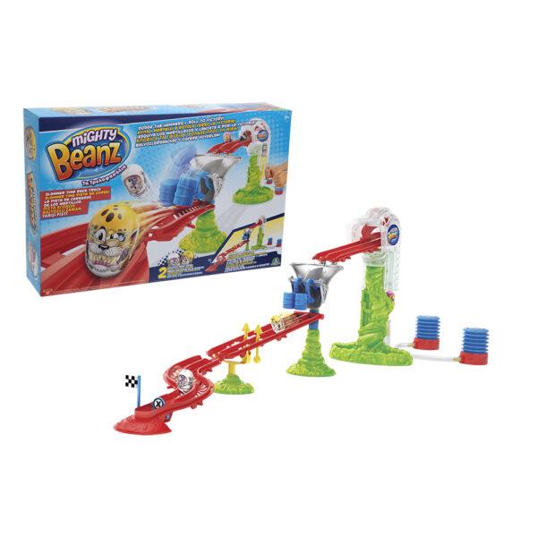 Giochi Preziosi Mighty Beanz, Pista Slammer Time Race Track, con 2 personaggi inclusi - Altro - Toys Center ALTRO Maschio 3-5 Anni, 5-8 Anni, 8-12 Anni ALTRI