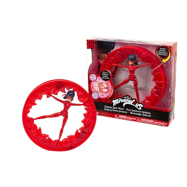 Giochi Preziosi Lady Bug Wheel, con luci e suoni, effetto Roll ALTRO Femmina 3-5 Anni, 5-8 Anni, 8-12 Anni ALTRI