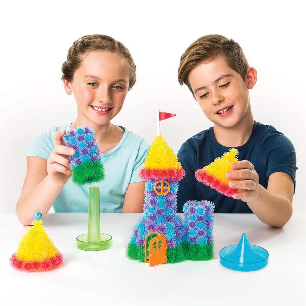 BUNCHEMS Bunch 'n Build - Kit con Formine Spin Master Unisex 12+ Anni, 8-12 Anni ALTRI