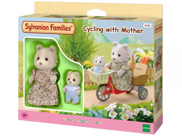 Mamma cane + Bebè bicicletta SYLVANIAN FAMILIES Femmina 12-36 Mesi, 3-4 Anni, 3-5 Anni, 5-7 Anni, 5-8 Anni, 8-12 Anni ALTRI