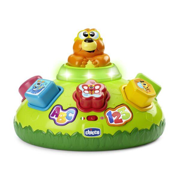 ABC SAM LA TALPA INCASTRO - Chicco - Toys Center Chicco Unisex 0-12 Mesi, 12-36 Mesi ALTRI