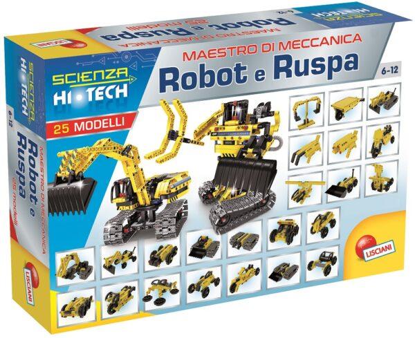 Scienza Hi Tech Robot e Ruspa - Altro - Toys Center - ALTRO - Giochi di emulazione