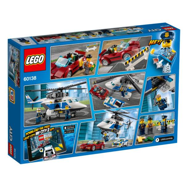 60138 - Inseguimento ad alta velocità - Lego City - Toys Center ALTRI Maschio 5-7 Anni, 8-12 Anni LEGO CITY