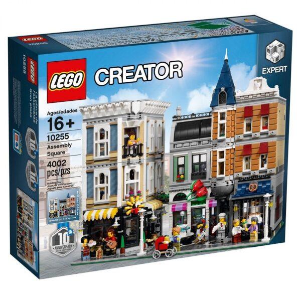LEGO - Piazza dell'Assemblea 10255 LEGO CREATOR EXPERT Maschio 12+ Anni ALTRI