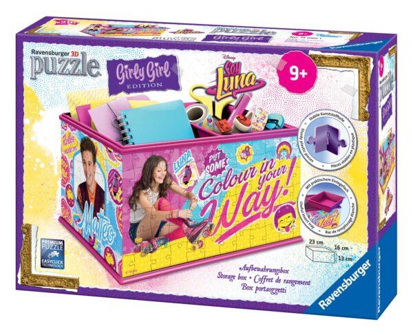 Girly Girl 3D Porta oggetti Soy Luna - Giocattoli Toys Center - Disney - Fino al -20%