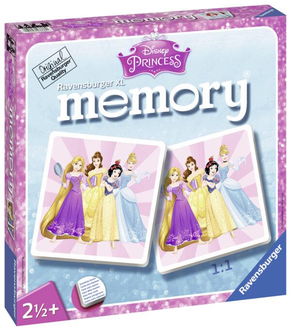 Memory XL Princess PRINCIPESSE DISNEY Femmina 0-2 Anni, 12-36 Mesi, 3-4 Anni, 3-5 Anni, 5-8 Anni Disney