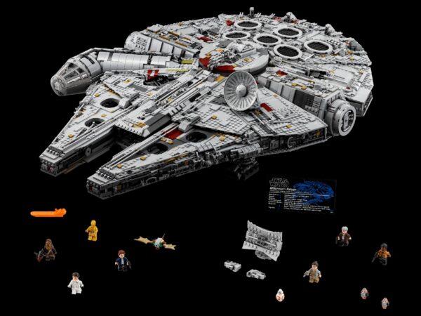 75192 - Millennium Falcon™ - Giocattoli Toys Center Star Wars Maschio 12+ Anni Disney