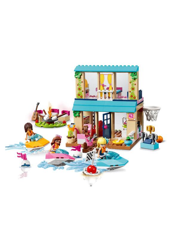 10763 - La casa sul lago di Stephanie - Lego Juniors - Toys Center ALTRI Unisex 3-5 Anni, 5-8 Anni LEGO JUNIORS