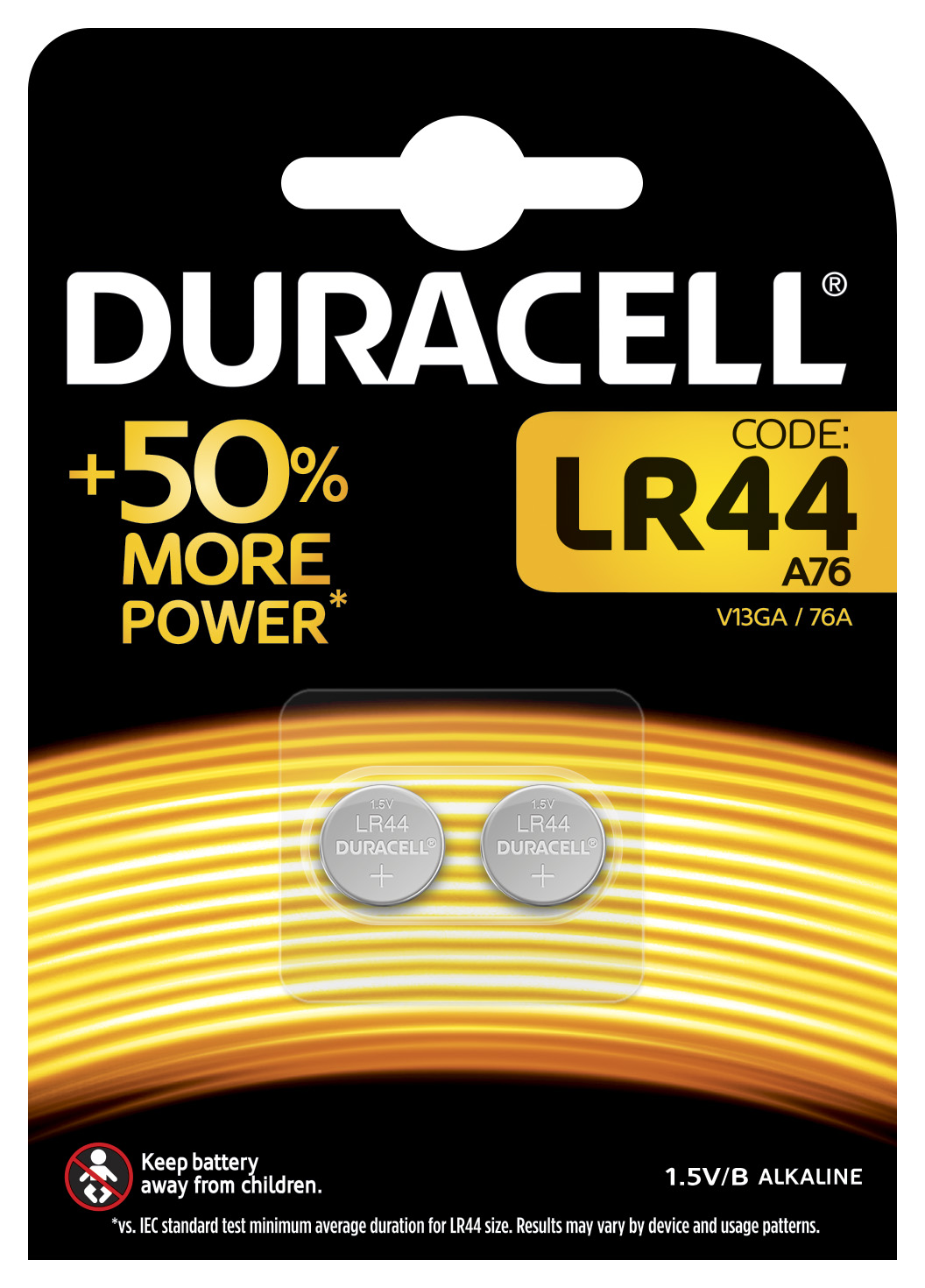 Duracell special electronics lr44 b2 - ALTRO