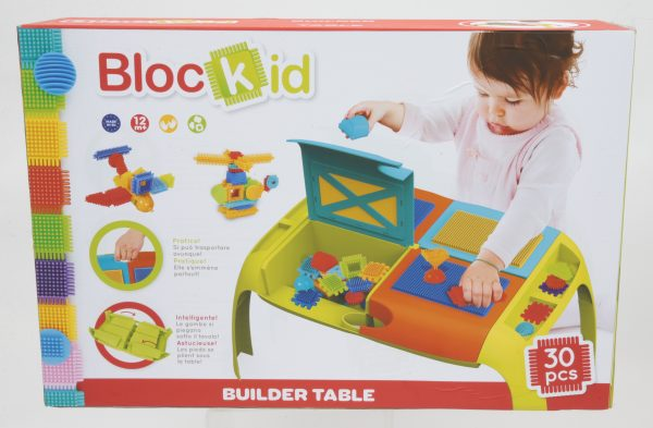 BUILDER TABLE - Toys Center - Toys Center TOYS CENTER Unisex 0-12 Mesi, 12-36 Mesi, 3-5 Anni BLOCKID