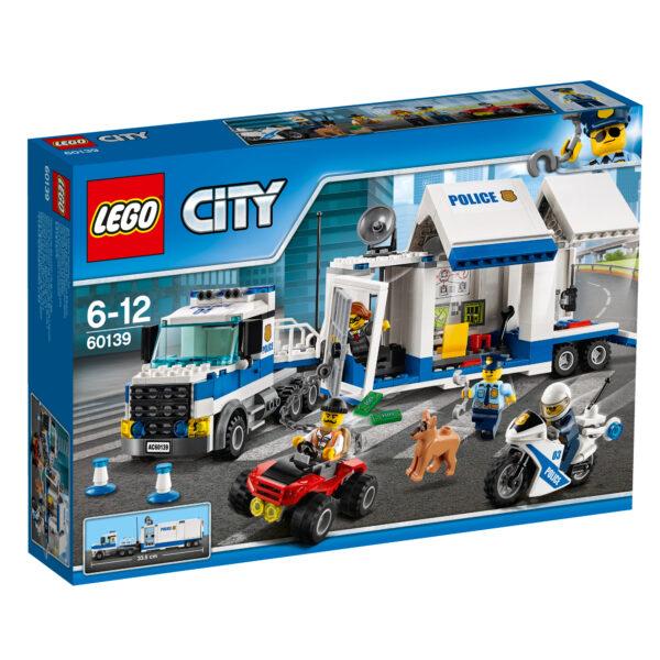 LEGO City 60139 - Centro di comando mobile LEGO CITY Maschio 5-7 Anni, 8-12 Anni ALTRI