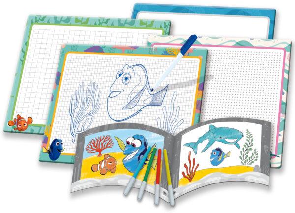 Dory art school Alla Ricerca di Dory Unisex 3-4 Anni, 3-5 Anni, 5-7 Anni, 5-8 Anni, 8-12 Anni DISNEY - PIXAR