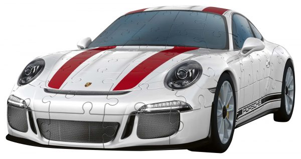 Porsche 911 - Puzzle 3D Veicoli Ravensburger ALTRI Unisex 12+ Anni, 8-12 Anni RAVENSBURGER PUZZLE 3D