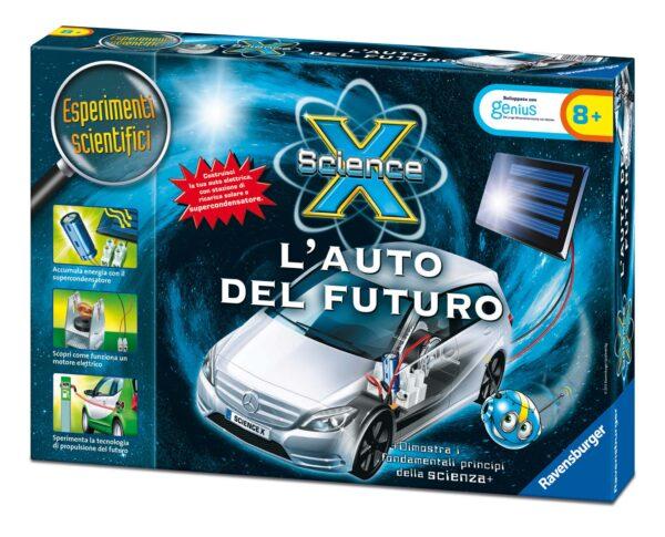 AUTO DEL FUTURO - Giocattoli Toys Center SCIENCE X Unisex 12+ Anni, 5-8 Anni, 8-12 Anni ALTRI