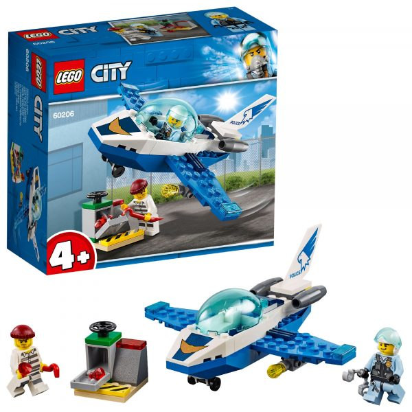 LEGO City Police - Pattugliamento della Polizia aerea  - 60206 LEGO CITY POLICE Unisex 12+ Anni, 3-5 Anni, 5-8 Anni, 8-12 Anni ALTRI