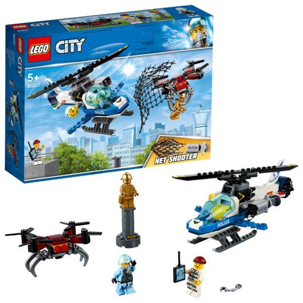 60207 - Polizia aerea all'inseguimento del drone - LEGO CITY POLICE - Costruzioni