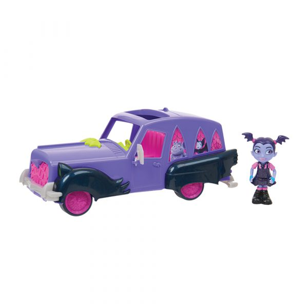 Giochi Preziosi - Vampirina Vampimobile trasformabile, con personaggio, accessori, luci e suoni - ALTRO - Altre bambole e accessori