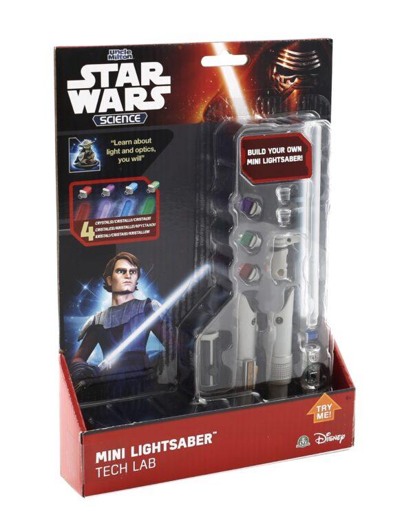 Mini Spada Luminosa Tech Lab - Disney - Toys Center Disney Maschio 3-5 Anni, 5-7 Anni, 5-8 Anni, 8-12 Anni Star Wars