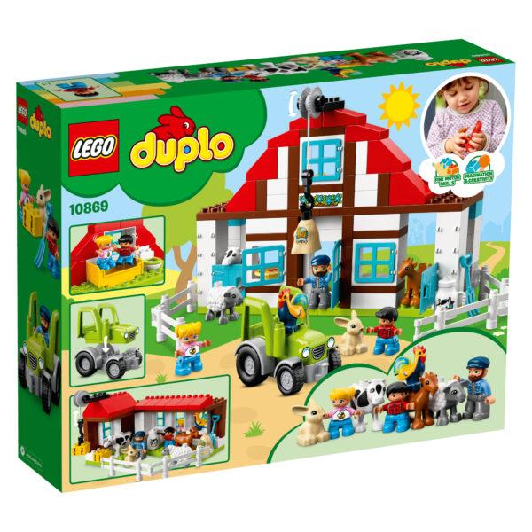 10869 - Visitiamo la fattoria LEGO DUPLO Unisex  ALTRI