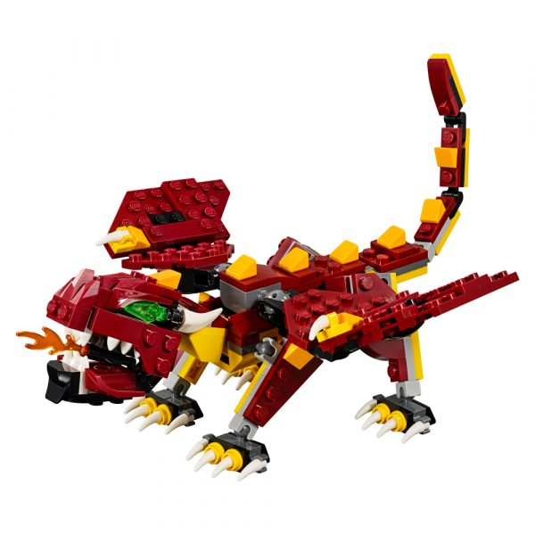 LEGO CREATOR ALTRI 31073 - Creature mitiche - Lego Creator Maschio 12+ Anni, 5-8 Anni, 8-12 Anni