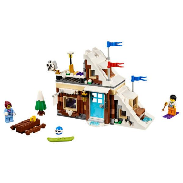 LEGO CREATOR ALTRI 31080 - Vacanza invernale modulare - Lego Creator - Toys Center Unisex 12+ Anni, 5-8 Anni, 8-12 Anni
