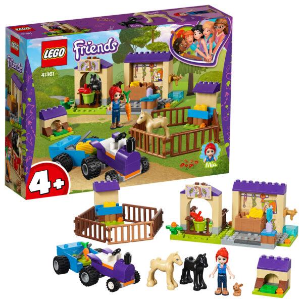 41361 - La scuderia dei puledri di Mia - Lego Friends - Toys Center - LEGO FRIENDS - Costruzioni