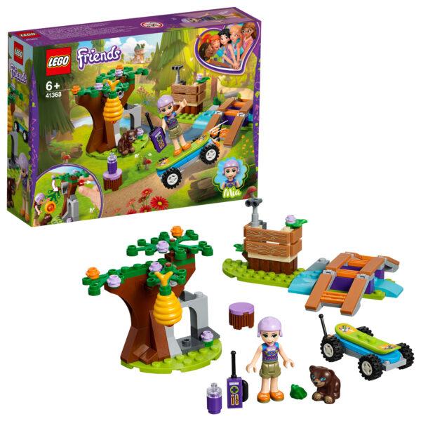 41363 - L'avventura nella foresta di Mia - Lego Friends - Toys Center LEGO FRIENDS Unisex 12+ Anni, 5-8 Anni, 8-12 Anni ALTRI