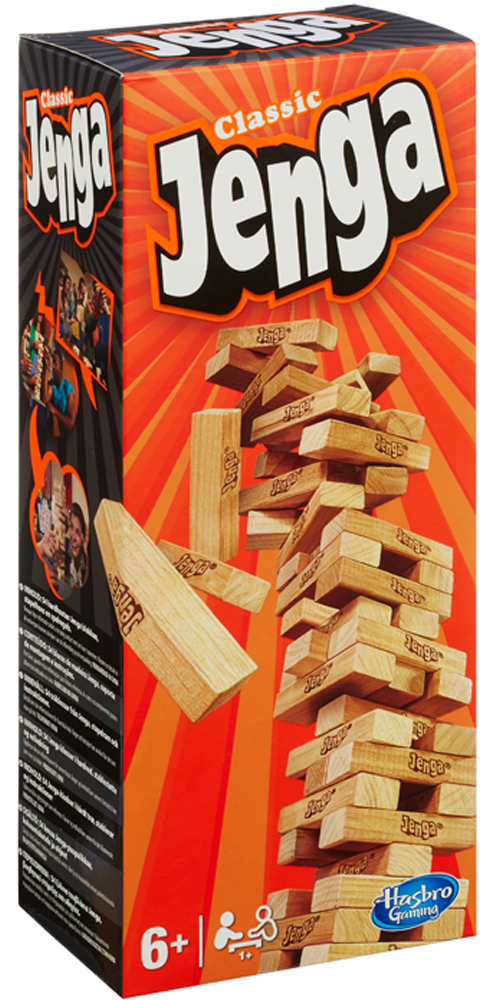 Jenga - Hasbro Gaming - Toys Center - HASBRO GAMING - Fino al -30%