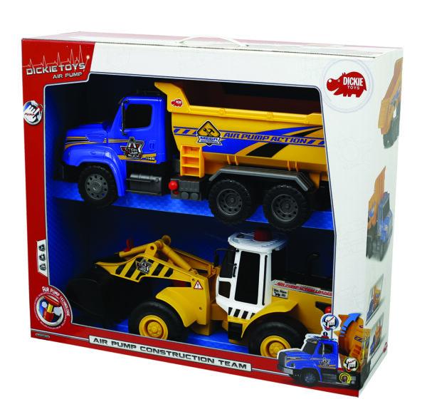Set 2 camion costruzioni - Camion e autocarri - Veicoli e piste giocattolo - Giocattoli - SUPERSTAR - Camion e autocarri