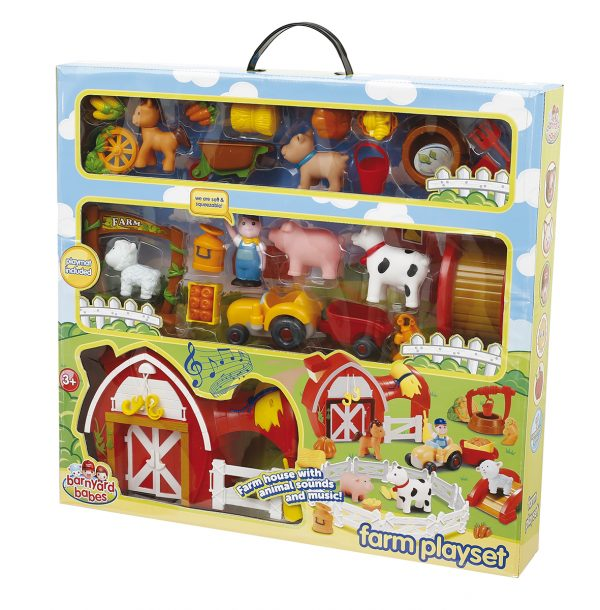 Playset fattoria - Superstar - Toys Center SUPERSTAR Unisex 12-36 Mesi, 3-5 Anni ALTRI