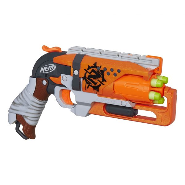 Nerf Zombie Strike Hammershot - Nerf - Toys Center - NERF - Playset e accessori per personaggi d'azione