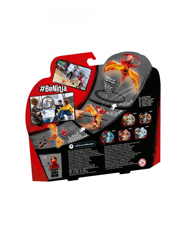 70647 - Kai - Maestro dragone - Lego Ninjago - Toys Center 12+ Anni, 5-8 Anni, 8-12 Anni Unisex LEGO NINJAGO ALTRI