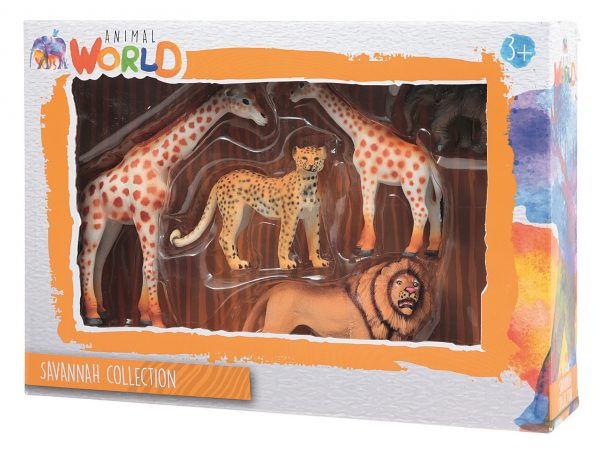 ANIMAL WORLD SAVANNAH COLLECTION ANIMAL WORLD Unisex 12-36 Mesi, 12+ Anni, 3-5 Anni, 5-8 Anni, 8-12 Anni ALTRI