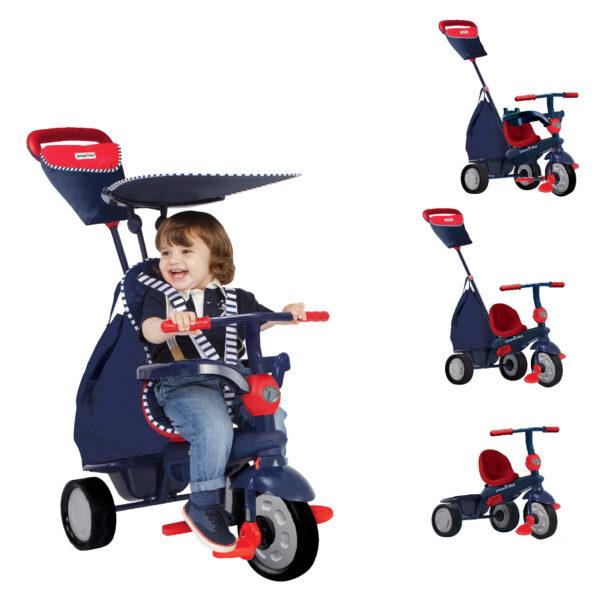 SMART TRIKE GLOW BLU - SMART TRIKE - Bici, Tricicli e Cavalcabili a pedali