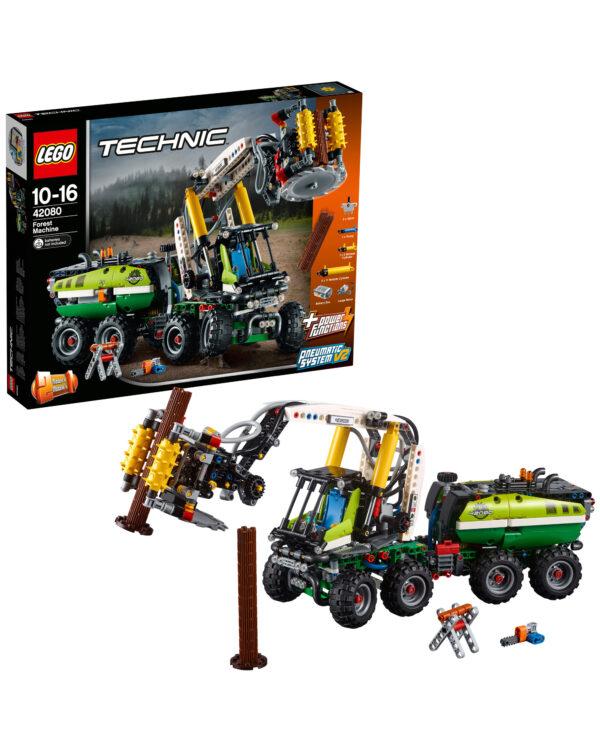 LEGO TECHNIC - Macchina forestale - 42080 LEGO TECHNIC Unisex 12+ Anni, 8-12 Anni ALTRI