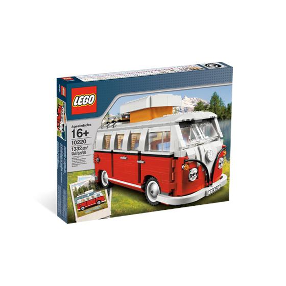 10220 - Volkswagen T1 Camper Van - Età LEGO CREATOR EXPERT Unisex 12+ Anni ALTRI