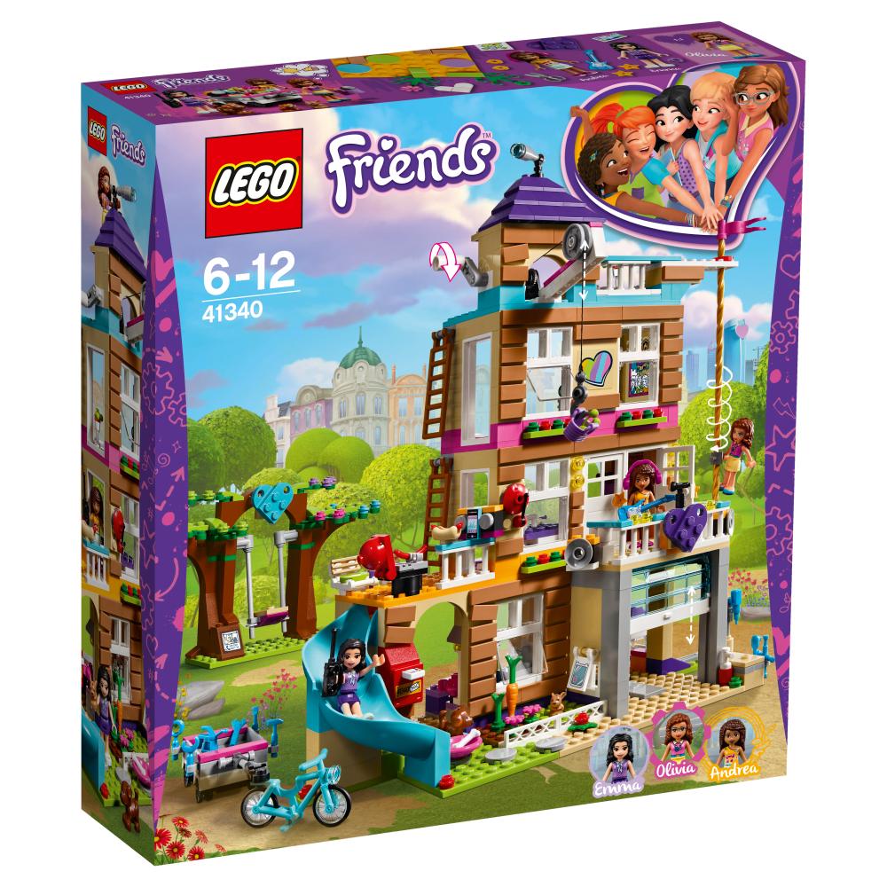 size 7 various design fashion 41340 - La casa dell'amicizia - Lego Friends - Toys Center