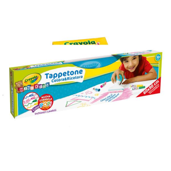 Tappetone Colora&Ricolora Crayola CRAYOLA Unisex 12-36 Mesi, 3-5 Anni, 5-8 Anni ALTRI