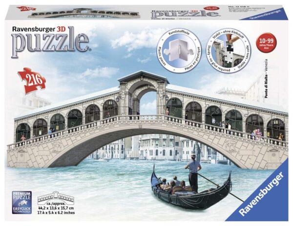 3D Puzzle Building - Ponte di Rialto - Altro - Toys Center - ALTRO - Fino al -20%