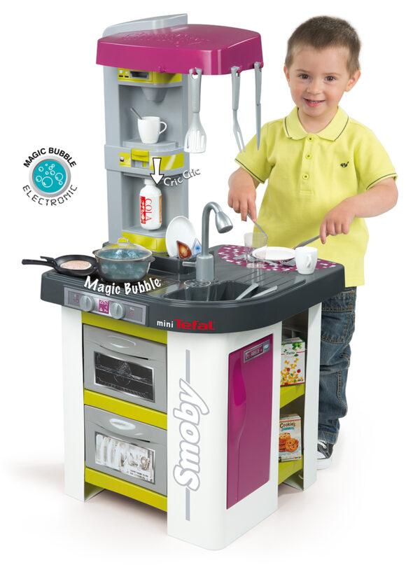 SMOBY ALTRI Cucina Studio Bubble Tefal - Cucine e accessori per cucina - Giochi di emulazione, di modellismo, educativi - Giocattoli Unisex 12-36 Mesi, 12+ Anni, 8-12 Anni