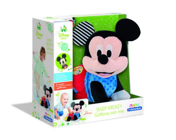 BABY MICKEY GATTONA CON ME - DISNEY - DISNEY - Marche Disney Unisex 0-12 Mesi, 12-36 Mesi, 3-5 Anni TOPOLINO&CO.