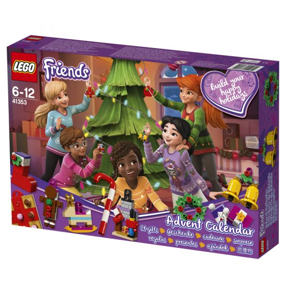 LEGO Friends  - Calendario dell'Avvento 2018 41353 ALTRI Unisex 12+ Anni, 5-8 Anni, 8-12 Anni LEGO FRIENDS