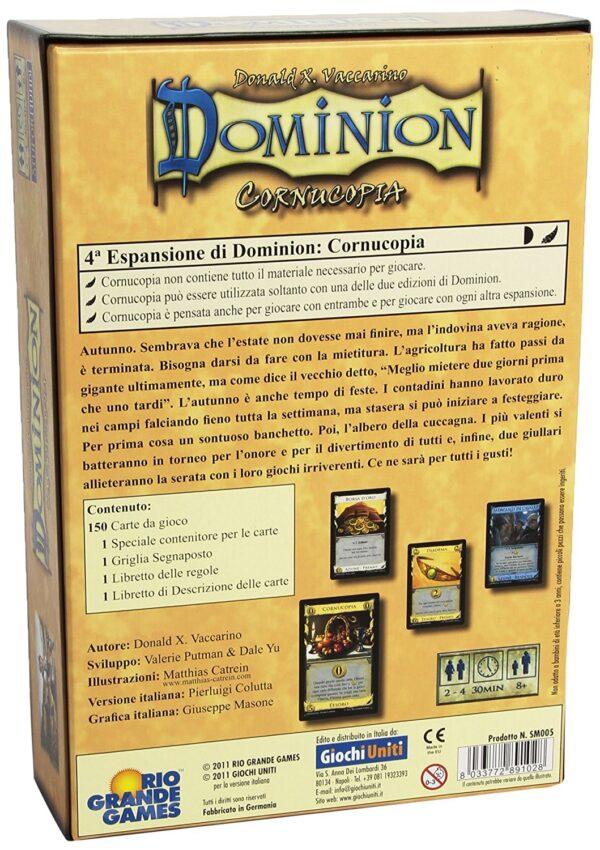 DOMINION CORNUCOPIA - ALTRO - Giochi da tavolo