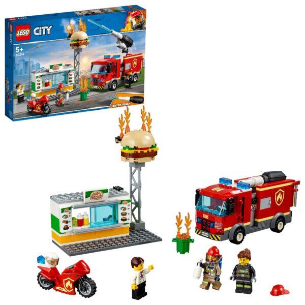 60214 - Fiamme al Burger Bar - LEGO CITY - Costruzioni