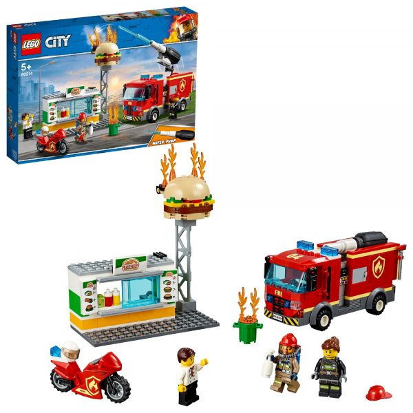 LEGO Fiamme al Burger Bar - 60214 LEGO CITY Unisex 12+ Anni, 3-5 Anni, 5-8 Anni, 8-12 Anni ALTRI